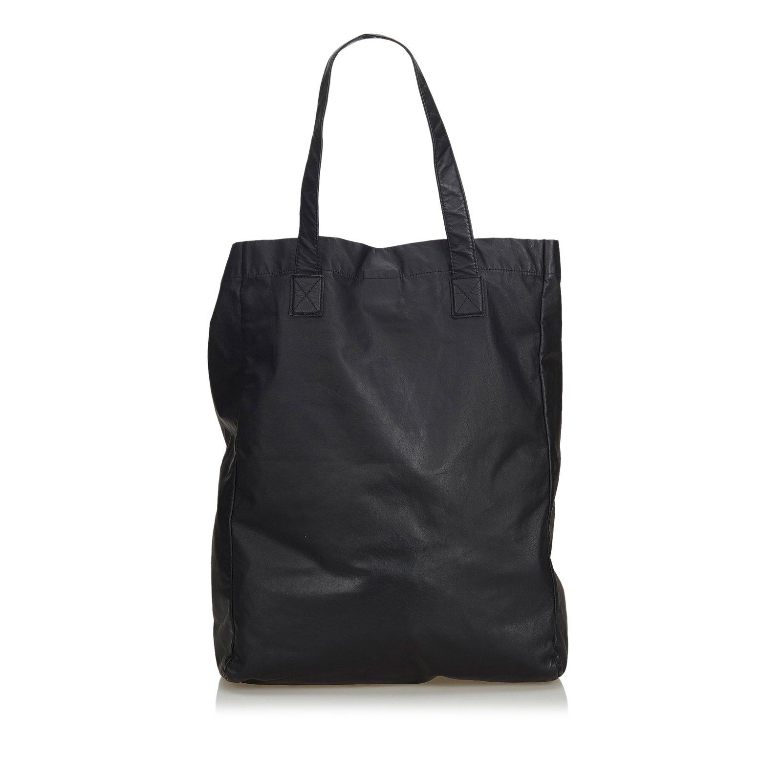 2c9f382db7 Leather Viaggio Tote Bag