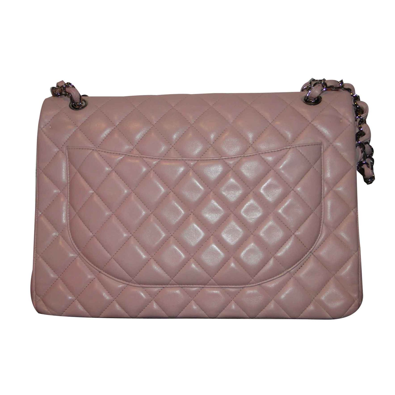 204debce4e1c Chanel Timeless MAXI lined Flap bag Handbags Leather,Lambskin Pink ...