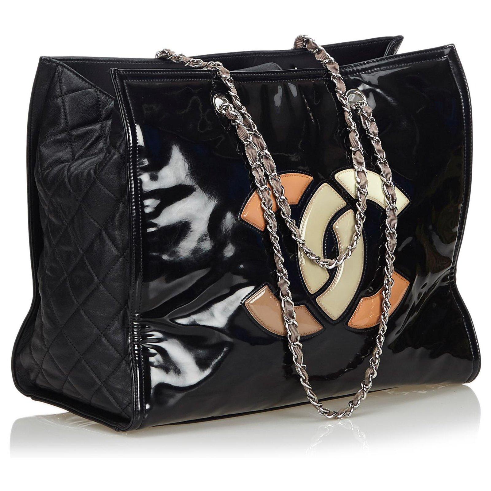 d098252f9f0976 Chanel Patent Leather Lipstick Tote Bag Totes Leather,Patent leather ...