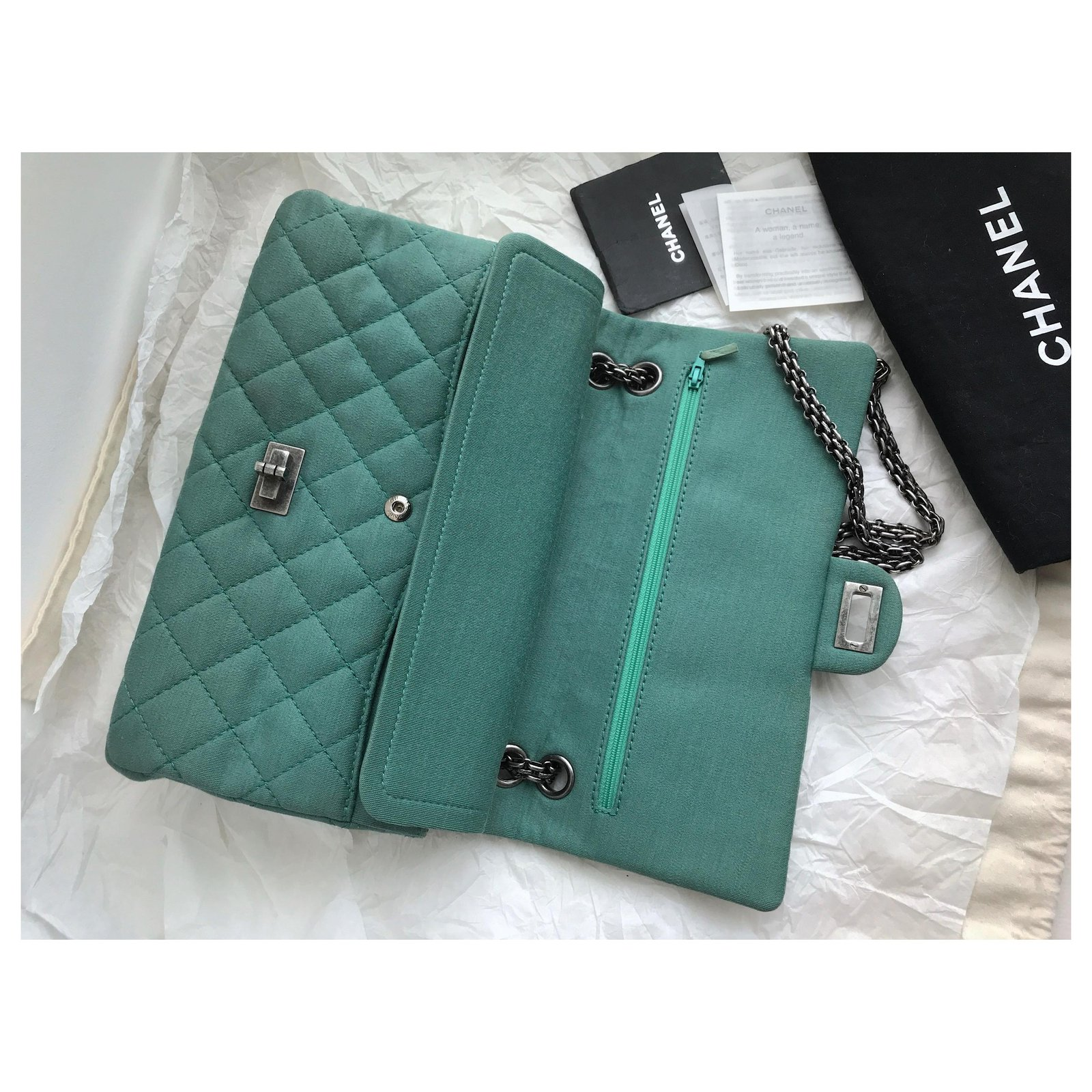 8101ef6dac3dfc Facebook · Pin This. Chanel 2.55 Reissue 28 cm Large Flap Bag 226 Handbags  Leather ...