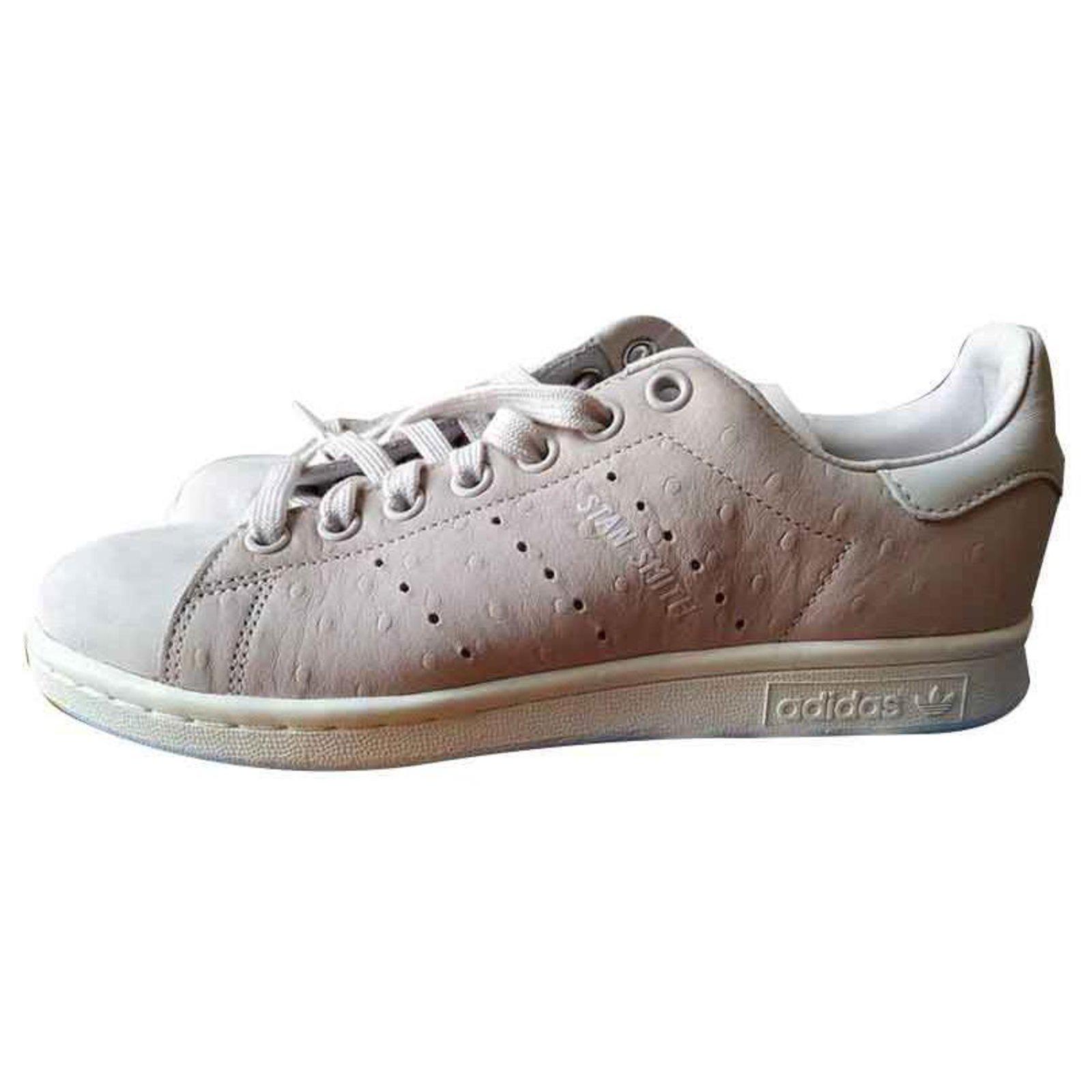 Adidas Originals Sneakers Blanc Cassé Femme B41595