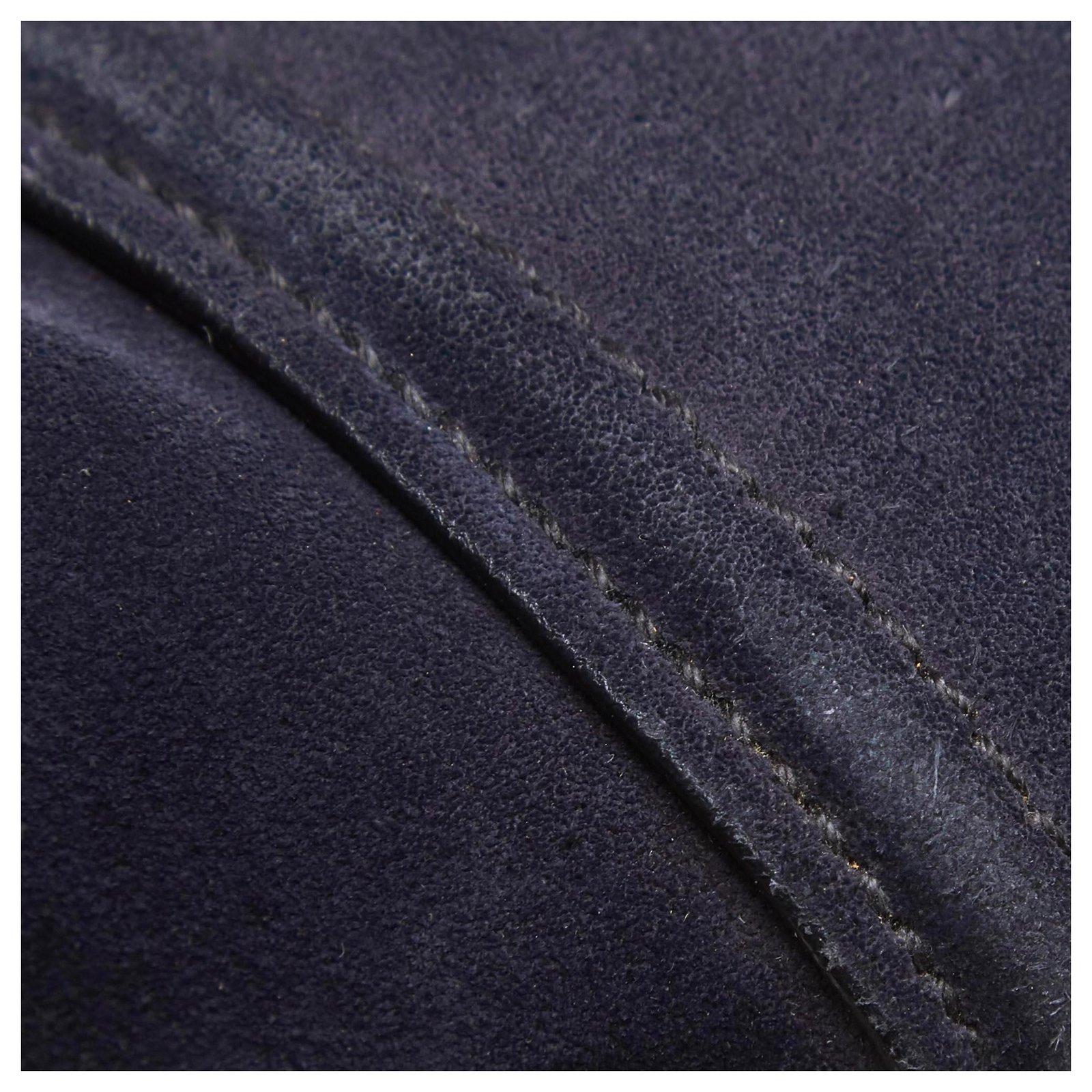 8c359451170b07 Prada Prada Blue Denim Twin Pocket Satchel Handbags Suede,Leather,Denim,Cloth  Blue,Navy blue ref.123987 - Joli Closet