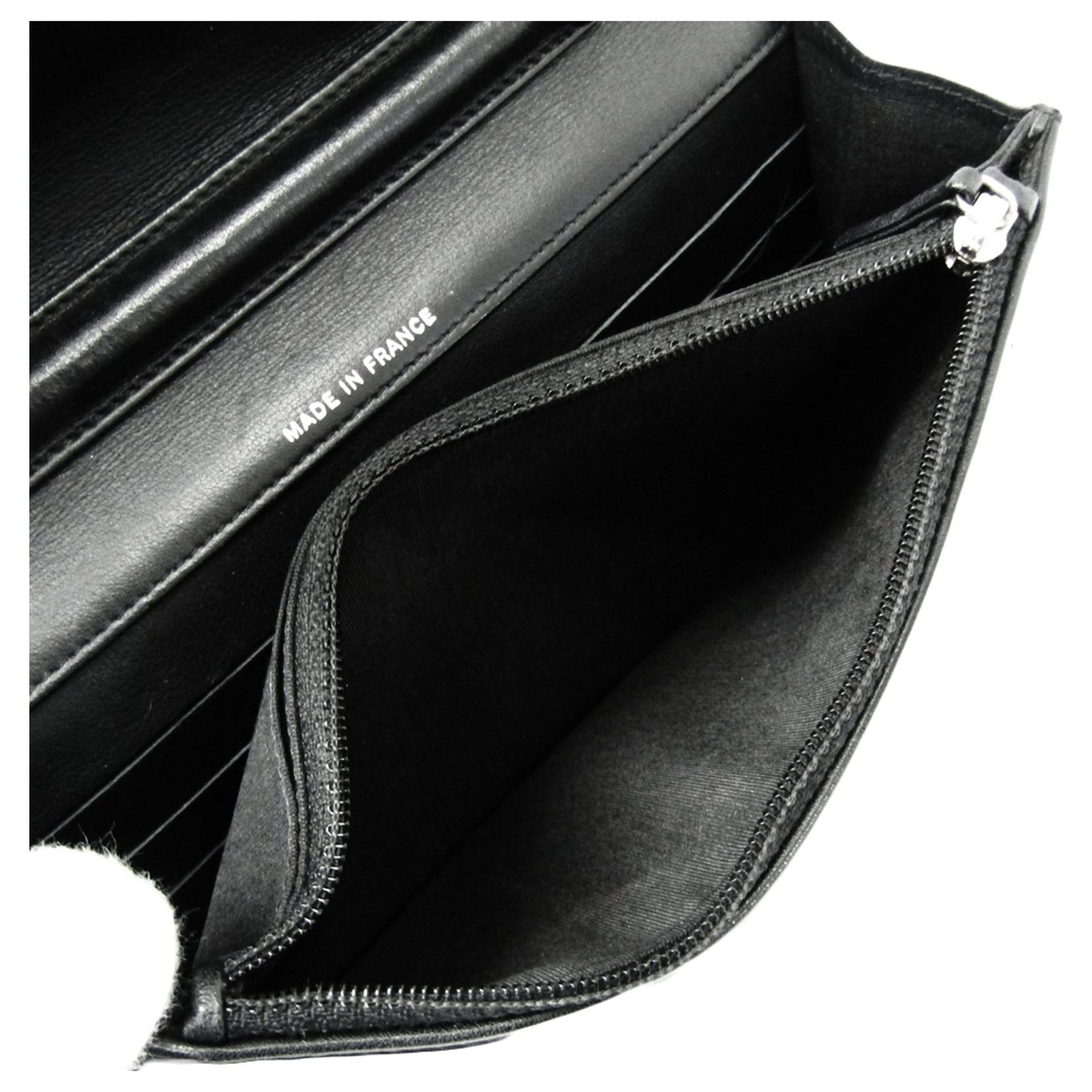 19ddd617d1c9e7 Chanel Chanel Black Patent Make-Up Line Wallet On Chain Handbags Leather,Patent  leather Black ref.128438 - Joli Closet