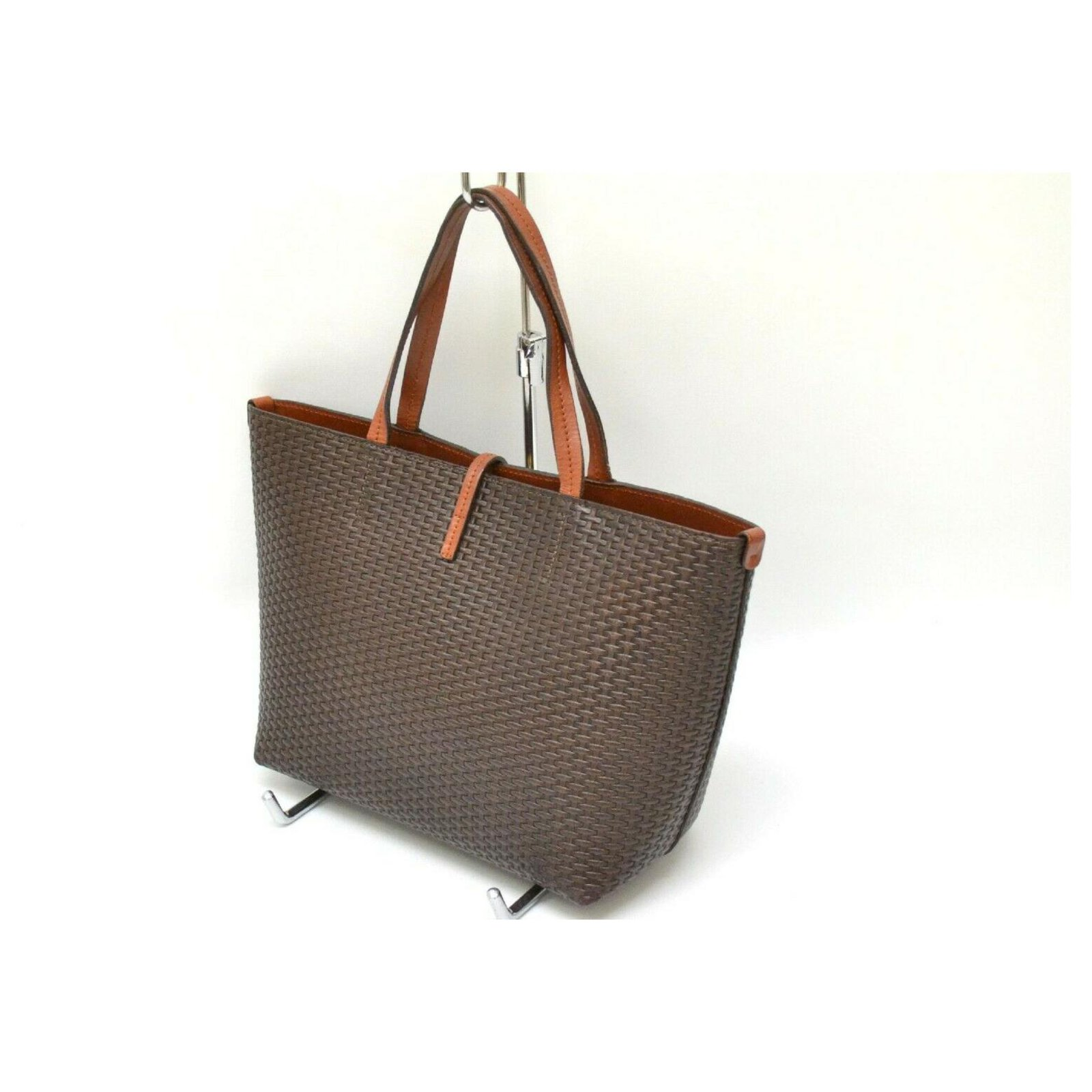 01a707b74d7 Salvatore Ferragamo Salvatore Ferragamo Gancini Tote Bag Totes Leather  Brown ref.132856 - Joli Closet