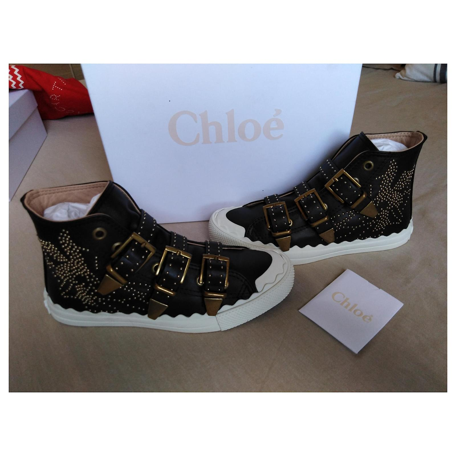Chloé Susanna Sneakers Leather Black