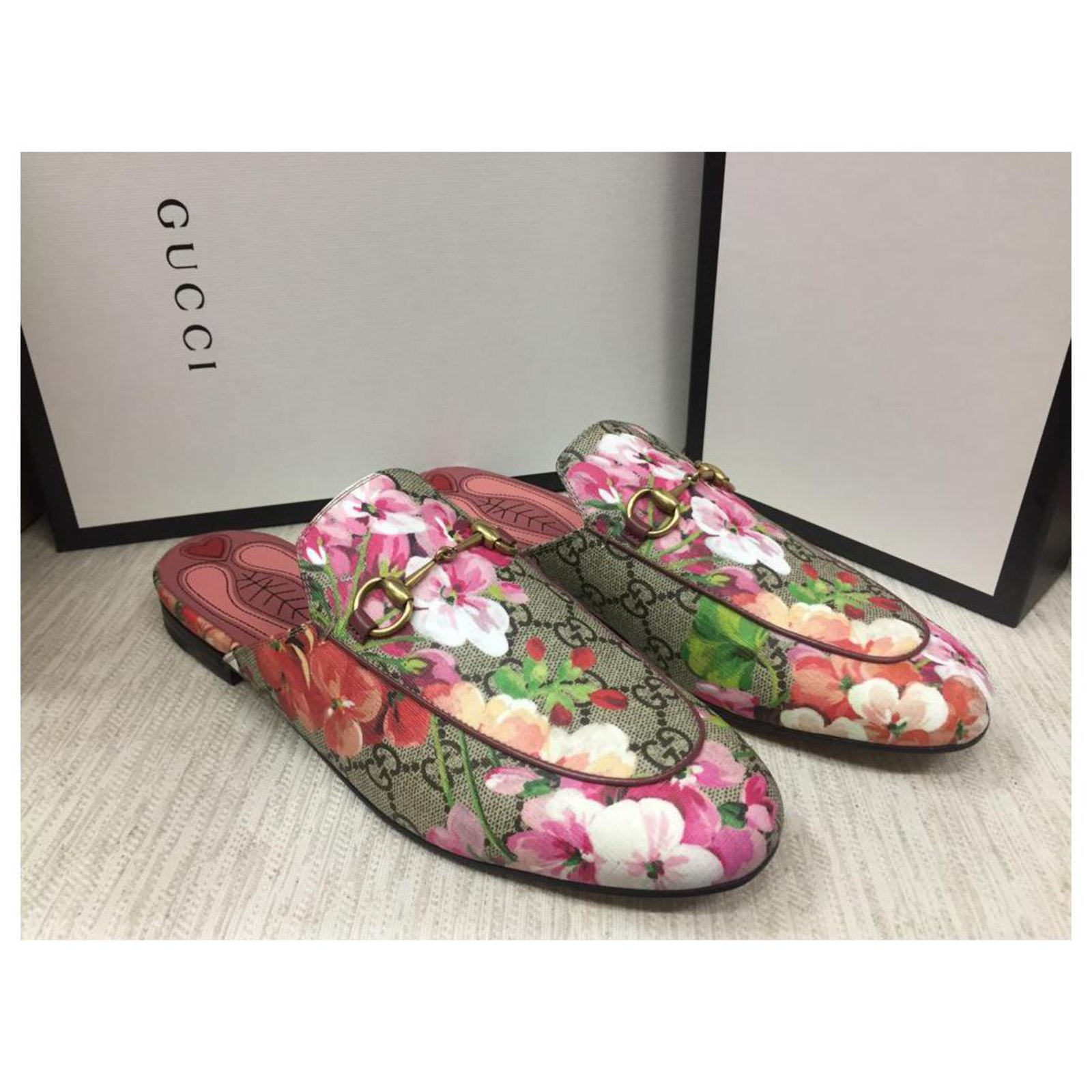 Gucci GUCCI Mules Princetown GG Blooms