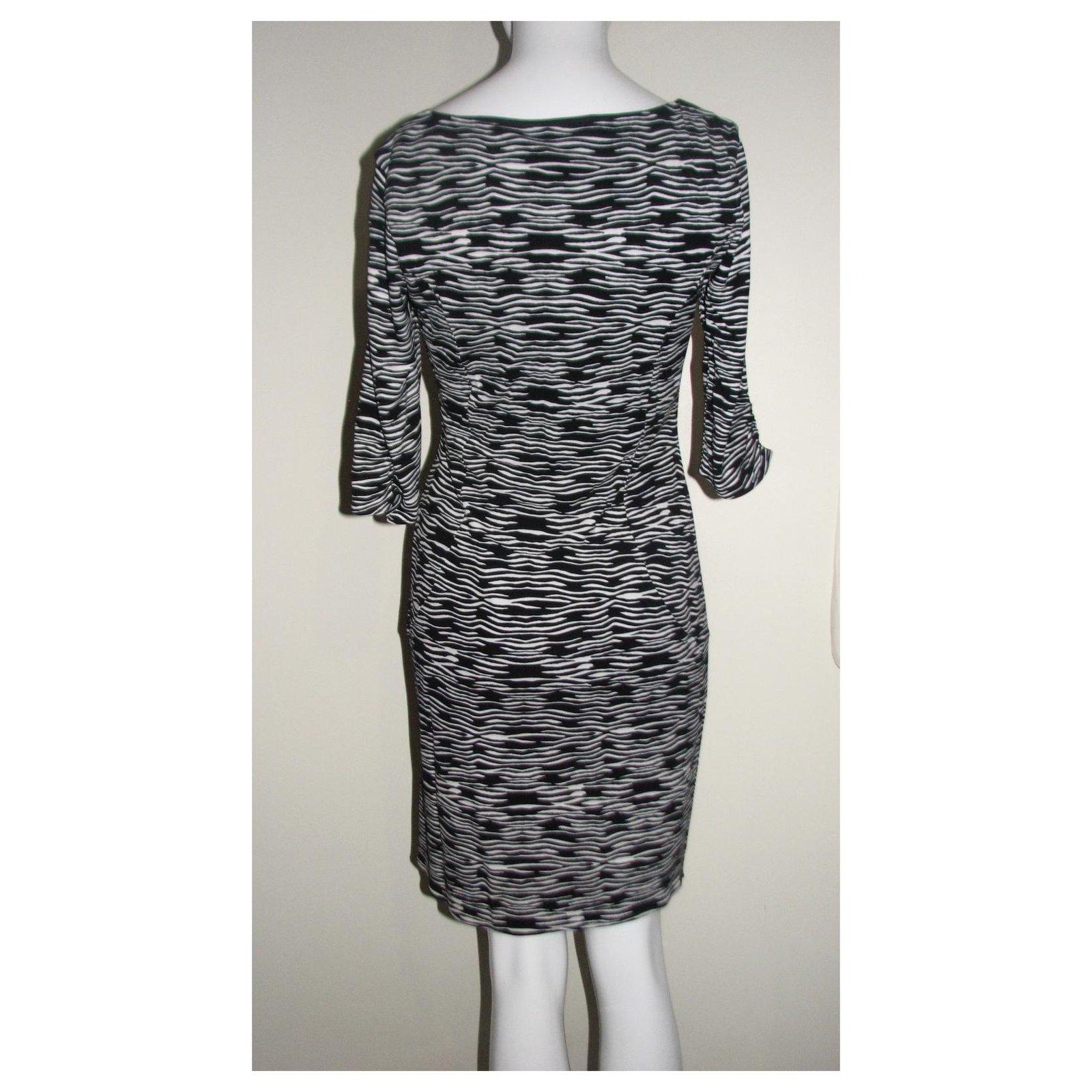 Kleid mit Zebradruck