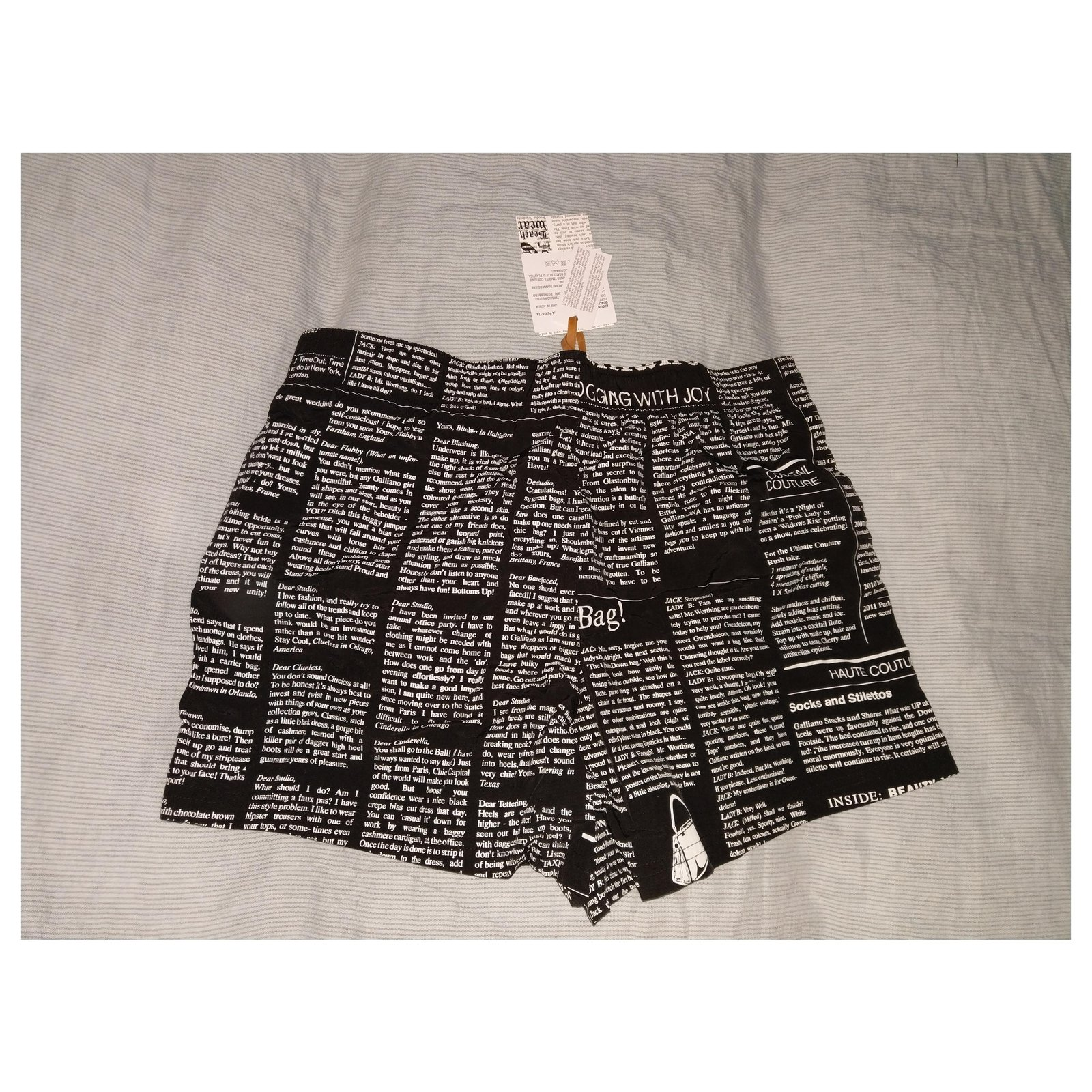 checkered shorts John Galliano bermuda quadri