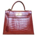 Kelly 32 alligator - Hermès