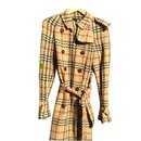 Trench-coat  en tweed - Burberry