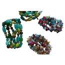 Lot de 4 bracelets en perles fantaisie - Autre Marque