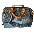 speddy 30 denim patchwork - Louis Vuitton