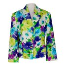 Celine Floral Linen Blazer Jacket - Céline
