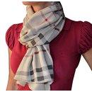 burberry scarf coton et cachemire - Burberry