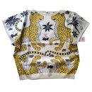 Top coton les léopards - Hermès