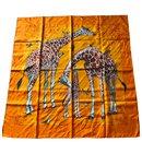 Carré de soie «les girafes» - Hermès