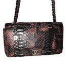 Snakeskin Medium Flap bag - Chanel