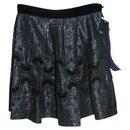 Metallic thread skirt - Anna Sui