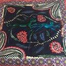 Châle cachemire soie 140 cm Savana Dance - Hermès