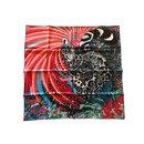 Square Hermes 90 Silk Jaguar Quetzal - Hermès