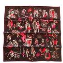 Square Hermes 70 vintage silk Rendez-vous Rive gauche - Hermès