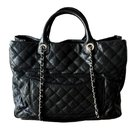 Chanel Large Black Caviar Shopping tote