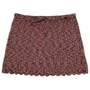 Chanel knitted cotton mini skirt
