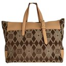 Vintage GIVENCHY shopper tote bag monogram canvas - Givenchy