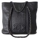 Sac shopping taille moyenne - Chanel