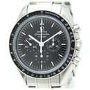 Omega Silver Stainless Steel Speedmaster 50th Anniversary Mechanical Watch