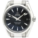 Omega Silver Stainless Steel Seamaster Aqua Terra Master Co-Axial Automatic Watch 231.10.39.21.01.002