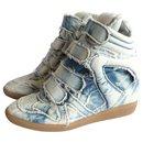 sneakers Bekett denim tie & dye - Isabel Marant