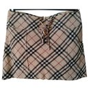 BURBERRY  signature patterned mini skirt - Burberry