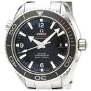 Omega Silver Stainless Steel Seamaster Planet Ocean Olympic Sochi Limited Edition Automatic Watch 522.30.46.21.01.001