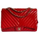 Maxi red chevron - Chanel