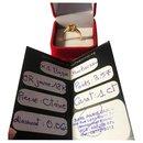 BAGUE MAUBOUSSIN  Désir de l' Amour Citrine 1 Ct /6 Diamants - Mauboussin