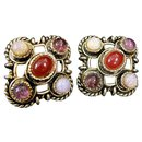 Beautiful pair of ear clips, Brand Christian Dior by Gripoix