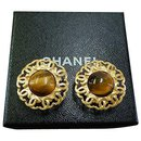 Chanel Clip-on Vintage CC