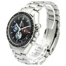 Omega Silver Stainless Steel Speedmaster Professional Moonwatch Mechanical Watch 3577.50