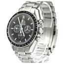 Omega Silver Stainless Steel Speedmaster Racing Automatic Watch 3552.59