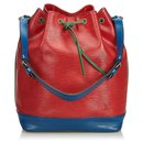 Louis Vuitton Rouge Epi Tricolore Noe