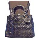 Authentic vintage handbag medium model Lady vintage year 83 cook soft lamb cannage - Christian Dior