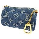 bijoux de sac en jeans - Louis Vuitton