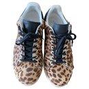 paire de sneakers Bart isabel marant léopard et noir - Isabel Marant