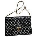 Large XL Chanel clutch