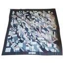 Hermes Giant Silk Scarf - Hermès