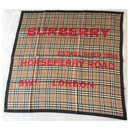 BURBERRY NM PRINTED SILK SCARF - Burberry