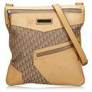 Dior Brown Dior Oblique Canvas Crossbody Bag