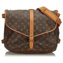 Louis Vuitton Monogram Marron Saumur 35