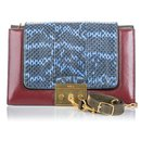 Mulberry Red Python Pembroke Shoulder Bag